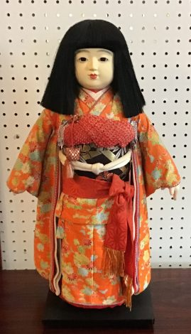 Japanese Ichimatsu Gofun Doll