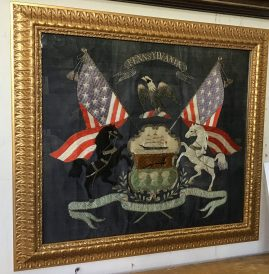 "PA ""Coat of Arms"" Needlework"