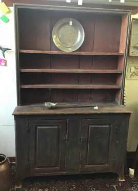 Upstate New York Pewter Cupboard